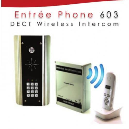 Wireless AUDIO Intercom WITH keypad