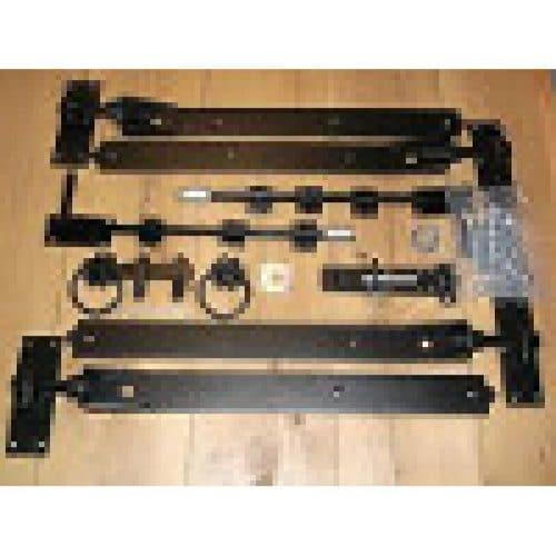 Fixing Kit 9 - Large BLACK POWDER COATED Bifold
