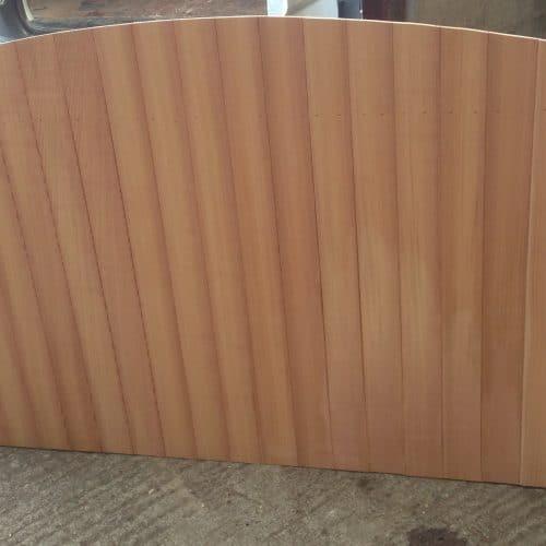 Cedar fence panel to match our cedar gates