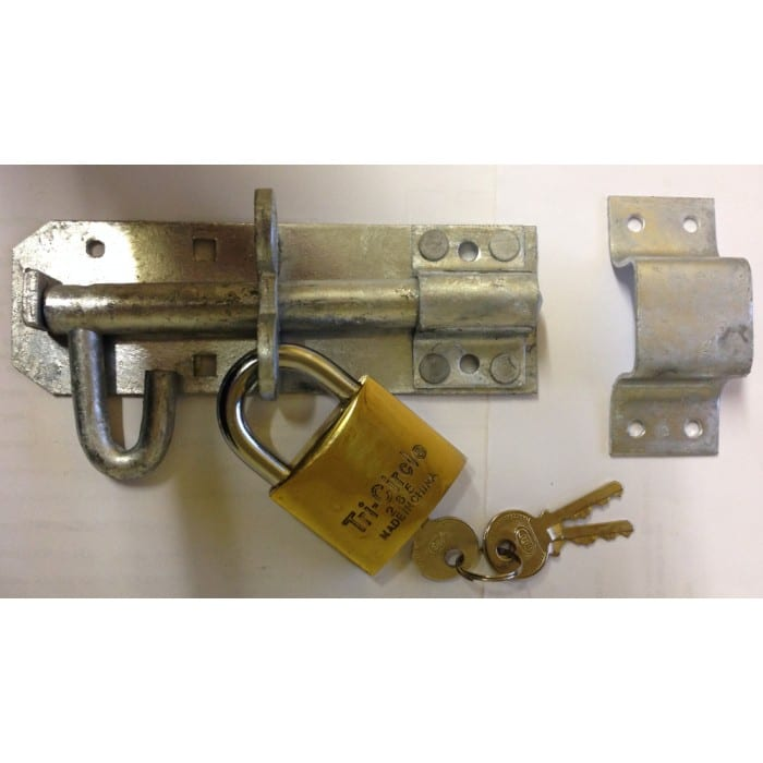 Brenton Pad Bolt with Pad Lock