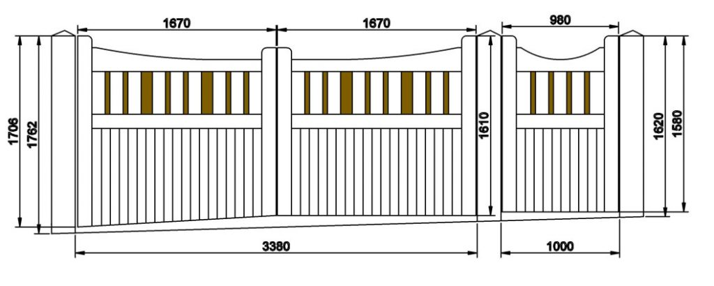 Measuring your gate for your Wooden Gates