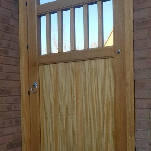 Hardwood Side Gates