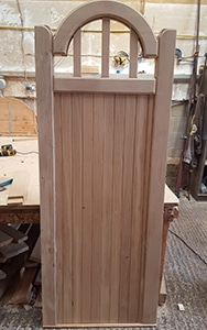 Bow top Spindle Wooden Side Gates