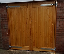 Wooden Garage Doors - Full Panel