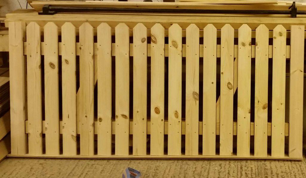 Picket Top Wooden Side Gate