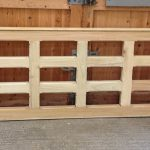 Flat Top Chunky Wooden Field Gate - SINGLE