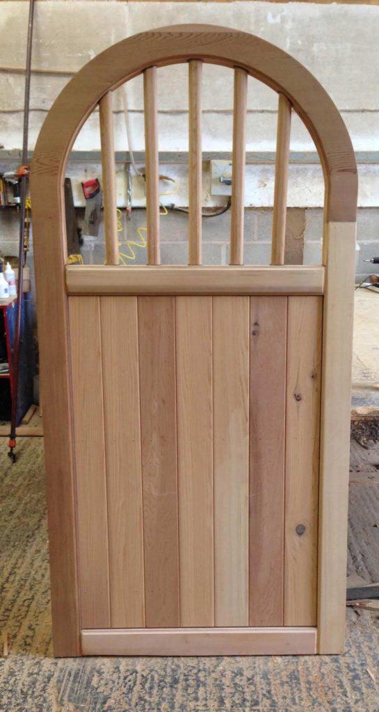 Brick top Spindle Wooden Side Gates