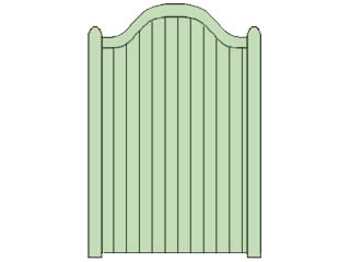Swan Neck Side Gates