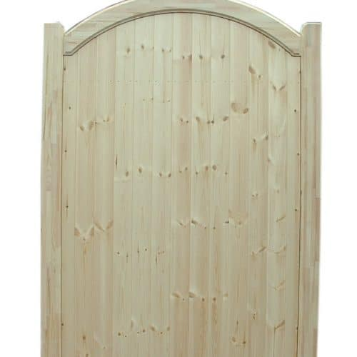 Bow Top Wooden Garden Gates