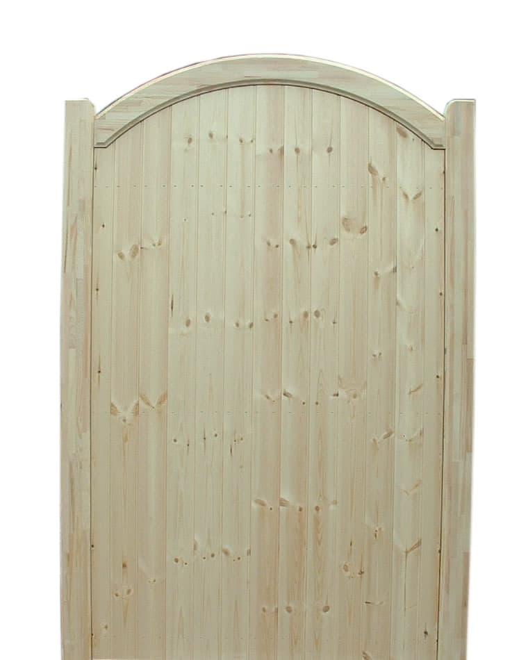 Bow Top Wooden Garden Gates