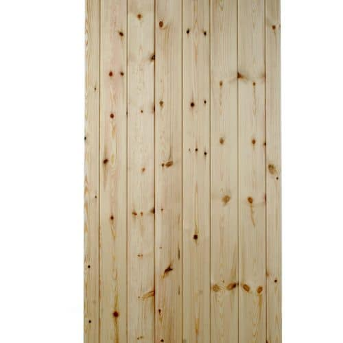 Ledge & Brace Flat Top Wooden Side Gate