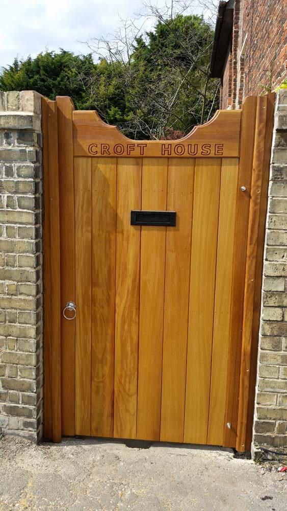 Hardwood Side Gates