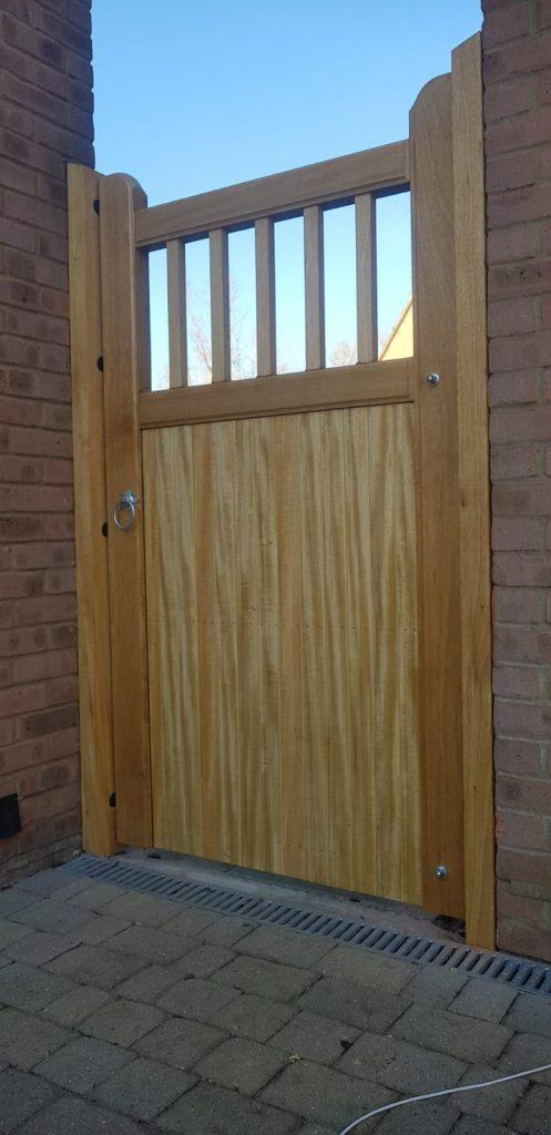 side gates, hardwood gates, wooden garden gates,