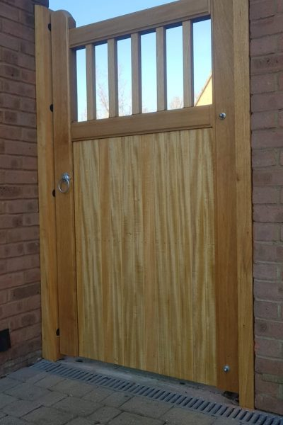 side gates, hardwood gates, wooden garden gates,